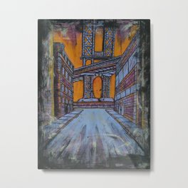 Brooklyn Nocturne 1 Metal Print