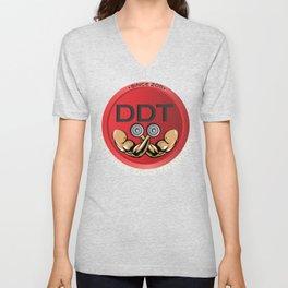 DDT Men's and Women's Hoodies Unisex V-Neck