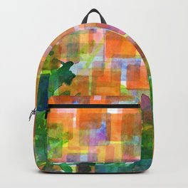 Magnified Detail of a Blossom Backpack