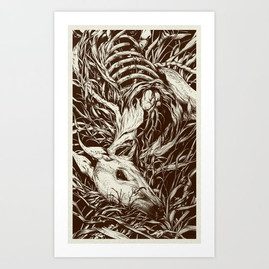 doe-eyed Art Print