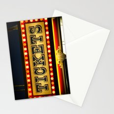 Tickets Stationery Cards