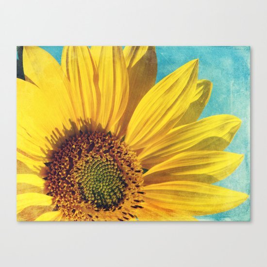 pure sunshine Canvas Print