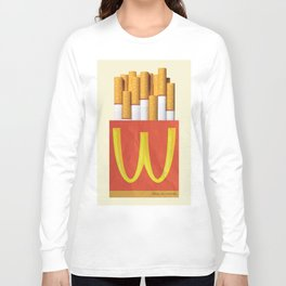 Unhappy Meal Long Sleeve T-shirt