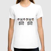 headphones T-shirts featuring HeadPhones by Chris Talbot-Heindl