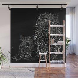Big Cat Models: Magnified Snow Leopard and Cub 01-03 Wall Mural