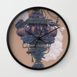 Bubble in the Line Wall Clock