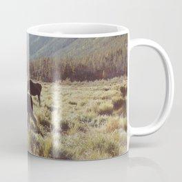 Three Meadow Moose Coffee Mug