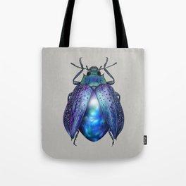 Black Opal Beetle Tote Bag