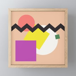 Smoove Moover// Framed Mini Art Print