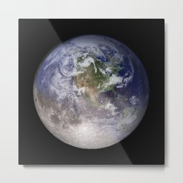 Global Warming Climate Change Metal Print