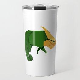 Origami Chameleon Travel Mug