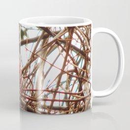 Chilly Cardinal Coffee Mug