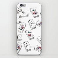puerto rico iPhone & iPod Skins featuring Dominos de Puerto Rico by A Different Place and Time