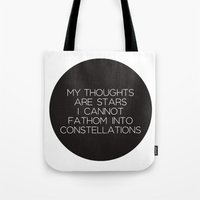 tfios Tote Bags featuring TFIOS by harrystyless