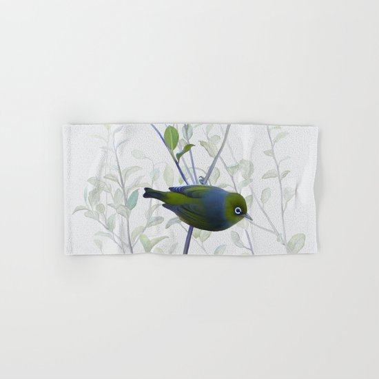 Little Silvereye Hand & Bath Towel