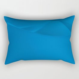 Blue wavy surface Rectangular Pillow
