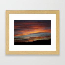 UTAHSKY Framed Art Print