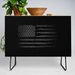 Grey American flag Credenza