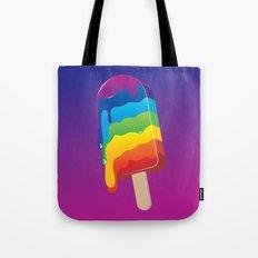 Ice-cream Rainbow Tote Bag
