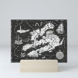 Treasure Map Mini Art Print