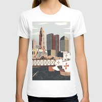 ohio T-shirts featuring Columbus, Ohio by Sam Brewster