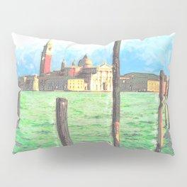 Gondola Moorings Pillow Sham