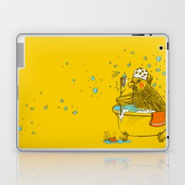 Bird Bath! Laptop & iPad Skin