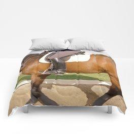 Dressage #7 Comforters