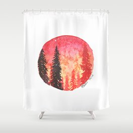 You Fuel Me Shower Curtain