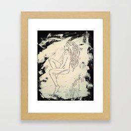 Black & White Dreams Framed Art Print