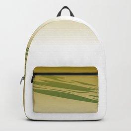 blue lines on gold Backpack