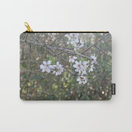 Almond tree branches and flowers Carry-All Pouch