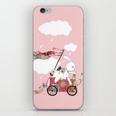 Runs away iPhone & iPod Skin