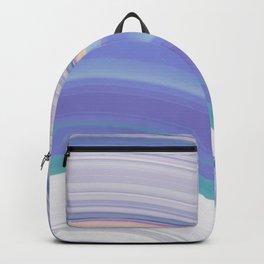 purple rainbow melt (glitch) Backpack
