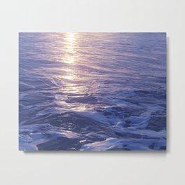Moonrise Sea, 2 Metal Print