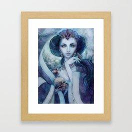 Queen of the dead Framed Art Print