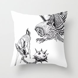 Roshambo 1 Throw Pillow