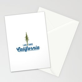 Lake Tahoe. Stationery Cards
