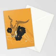 Untitled Art - Orange Stationery Cards
