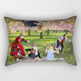 Alice au pays des Sakura // Alice in Sakuraland Rectangular Pillow