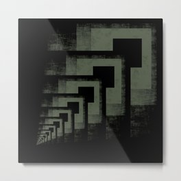 Increment Metal Print