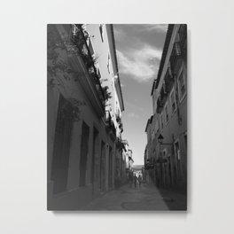 Pelourinho's Alley Metal Print