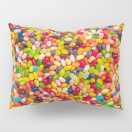 Gourmet Jelly Bean Pattern  Pillow Sham