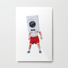 machine boy Metal Print