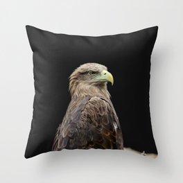 Predatory Eagle Throw Pillow