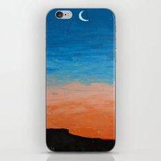 Pre-Dawn Moonrise, painting iPhone & iPod Skin