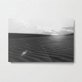 SILVER LAKE SANDS Metal Print