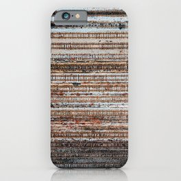 Silent Railyard iPhone Case