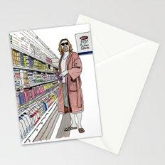 Jeffrey Lebowski and Milk. Stationery Cards