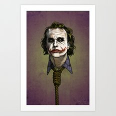Now I'm Always Smiling Art Print